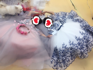The dress came in 12 days and its beautiful, it fit perfectly, very well made nice fabric, very happy!