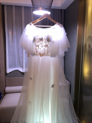 The dress is so beautiful. I want to order some other items on this website too.