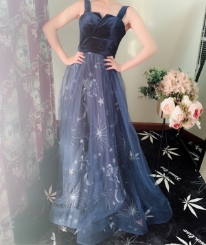 The dress was stunning!