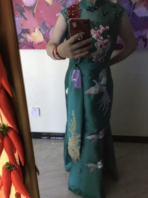 It is a perfect dress! Thank you so much.