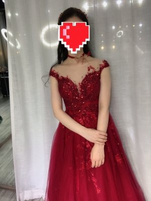 This dress was amazing!